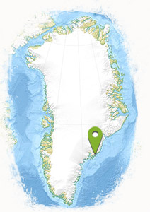 Thule Greenland location map