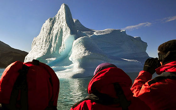 Greenland travel packages icebergs