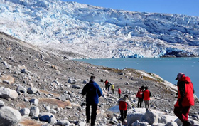 Hotels in Greenland trip, ice walk