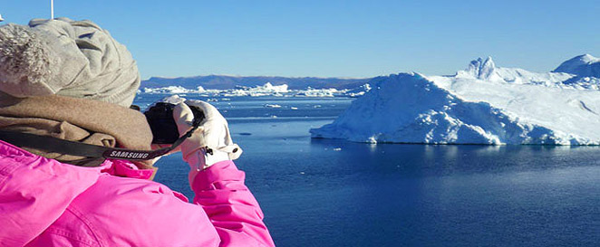 Greenland tour, boat cruise to Ilulissat