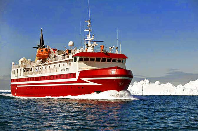 Arctic cruise from Ilulissat to Nuuk