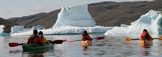 Greenlands Wonders Hiking Glacier Fronts Kayaking Amid Icebergs
