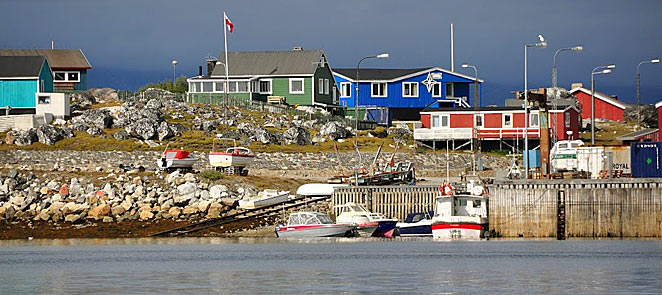 Nanortalik, southernmost town in South Greenland
