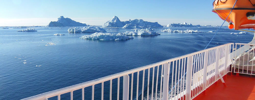 Summer travel to Greenland, cruise from Nuuk to Ilulissat