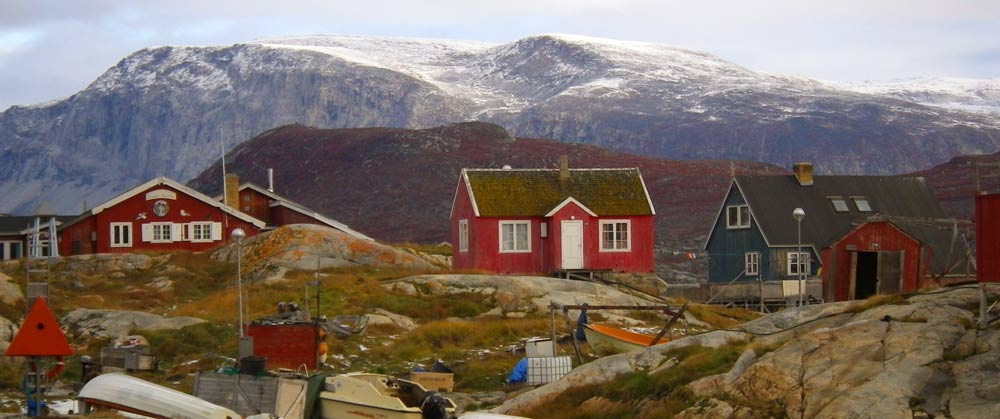 Summer travel to Greenland, boat trip from Ilulissat to Ilimanaq