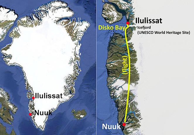 Northern Lights in Greenland Ilulissat Nuuk
